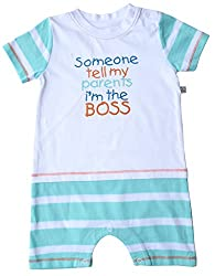Babeez Baby Yarn Dyed T - Romper (100% Cotton) to fit height 74 - 80cms
