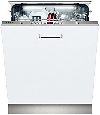 Neff S51L53X0EU lave-vaisselle - lave-vaisselles (Entièrement intégré, A, A+, Acier inoxydable, Blanc, boutons, Auto 45-65 ºC, Économie, Pré-lavage, Rapide)