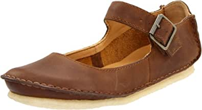 Clarks Women's Faraway Fell Flat,Beeswax Leather,10 M US