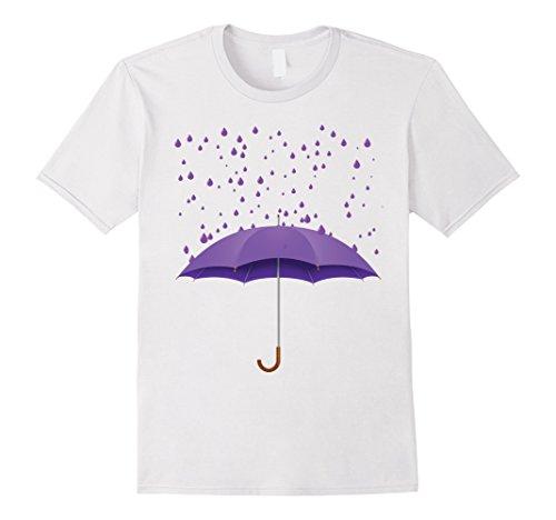 Men's Purple Tear/Rain Drop Shirt.