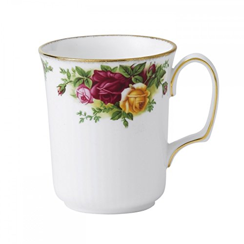 Royal Albert Old Country Roses Bristol Beakers 8 1/2oz Royal Rose Fine China Japan