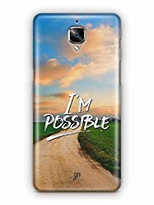 YuBingo I'm Possible Designer Mobile Case Back Cover for OnePlus 3