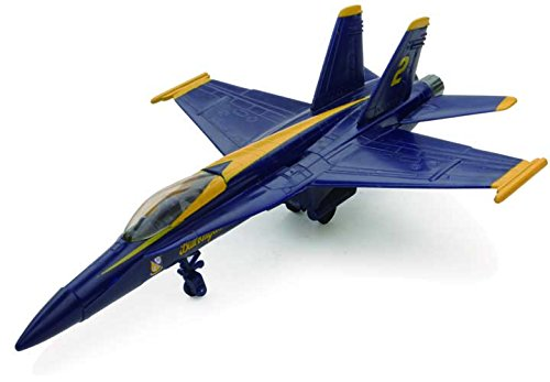NEWRAY 21313A - Sky Pilot Scala 1:72, F-18 Hornet Blue Angel