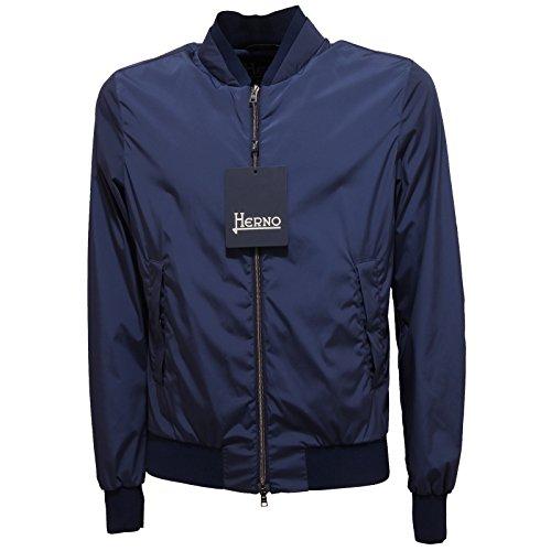 2873Q giubbotto uomo HERNO blu jacket men [50]