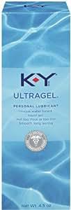 K-Y UltraGel Personal Water Based Lubricant, 4.5 Ounce