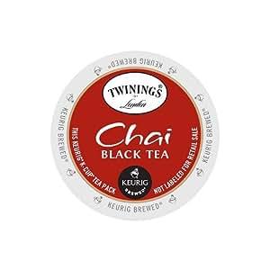 Twinings Chai Tea, Keurig K-Cups, 24 Count