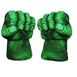 Emerge Plush gloves Hulk Smash Hand (green) Punching Plush gloves