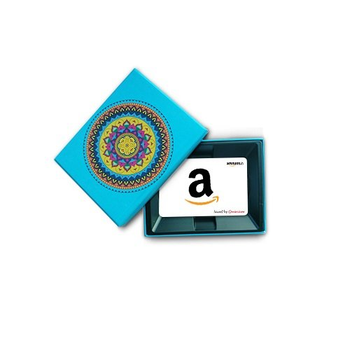 Amazon.in Gift Card in a Blue Festive Gift Box