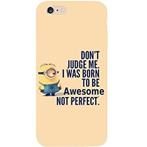 Casotec Minions Born to Be Perpect Design Hard Back Case Cover For Apple iPhone 6 Plus / 6S Plus