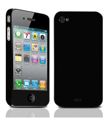 TUNEWEAR iPhone4用ハードケース eggshell for iPhone 4 ブラック TUN-PH-000037