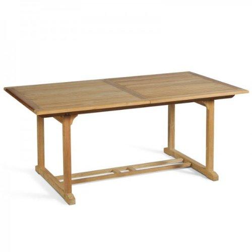 Massiver Gartentisch, Ausziehtisch 180-240cm aus hochwertigem Teakholz günstig kaufen