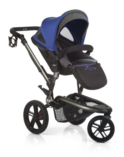 Jané Trider Extreme Stroller + Micro Bassinet (Azzure) - 1