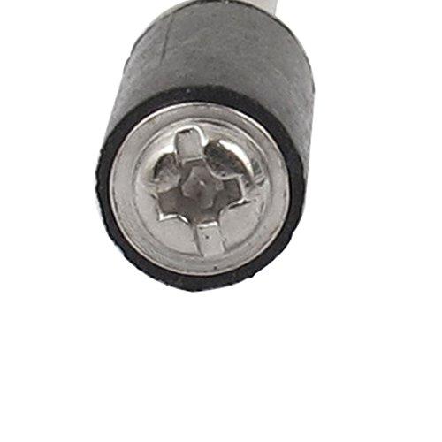 sourcingmap® 6mm Rubber Drum Mandrels Polishing Mill Rod for Sanding Sleeves Sander