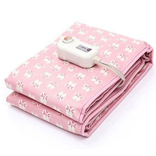 Electric Blanket Heating Bed Pad 8 Steps Control For 1 Person Ac220V 60Hz Via Ems (0088)