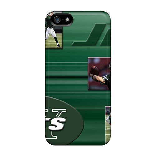 Top Quality Case Cover For Iphone 5/5S Case With Nice New York Jets Appearance