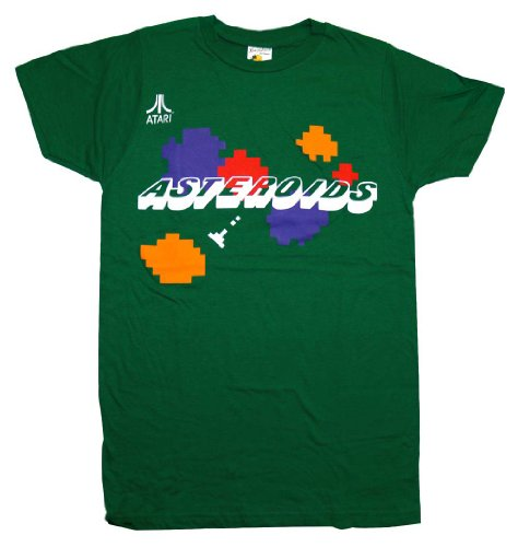 Asteroids Atari Arcade Retro Video Game T-Shirt