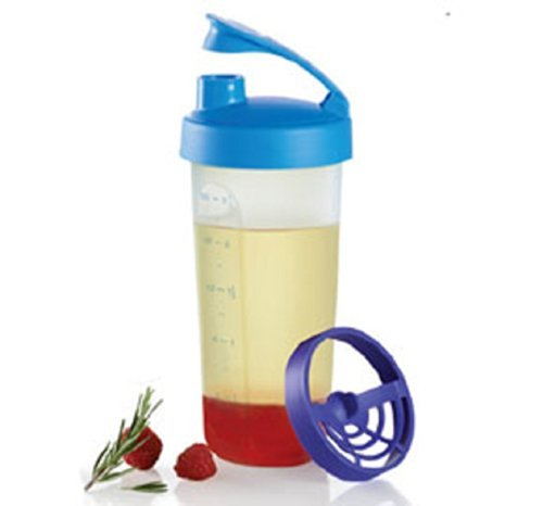 Tupperware Quick Shake Container in Berry Blue (Salad Bar Tupperware compare prices)