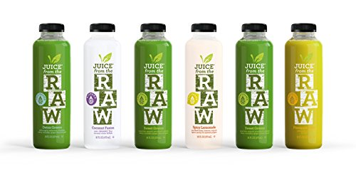 Juice from the RAW 3 Day ORGANIC Juice Cleanse - Believer Cleanse - 18 Bottles (Organic Juice Cleanse compare prices)