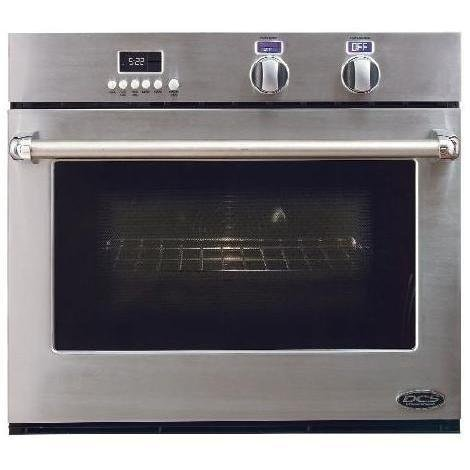 Dcs : Wou130 30 Single Electric Wall Oven, True Convection, Oven Slider Rack System
