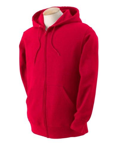 Fruit of the Loom Men's Full-Zip Hooded Sweatshirt,
