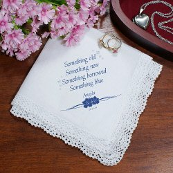 Something Borrowed, Something Blue Handkerchief