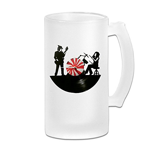 MeiSXue The White Stripes Jack White Peppermint Beer Mug
