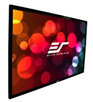 "Elite Screens 109 Inch 16:10 SableFrame Fixed Projector Screen (57.8""Hx92.4""W)"