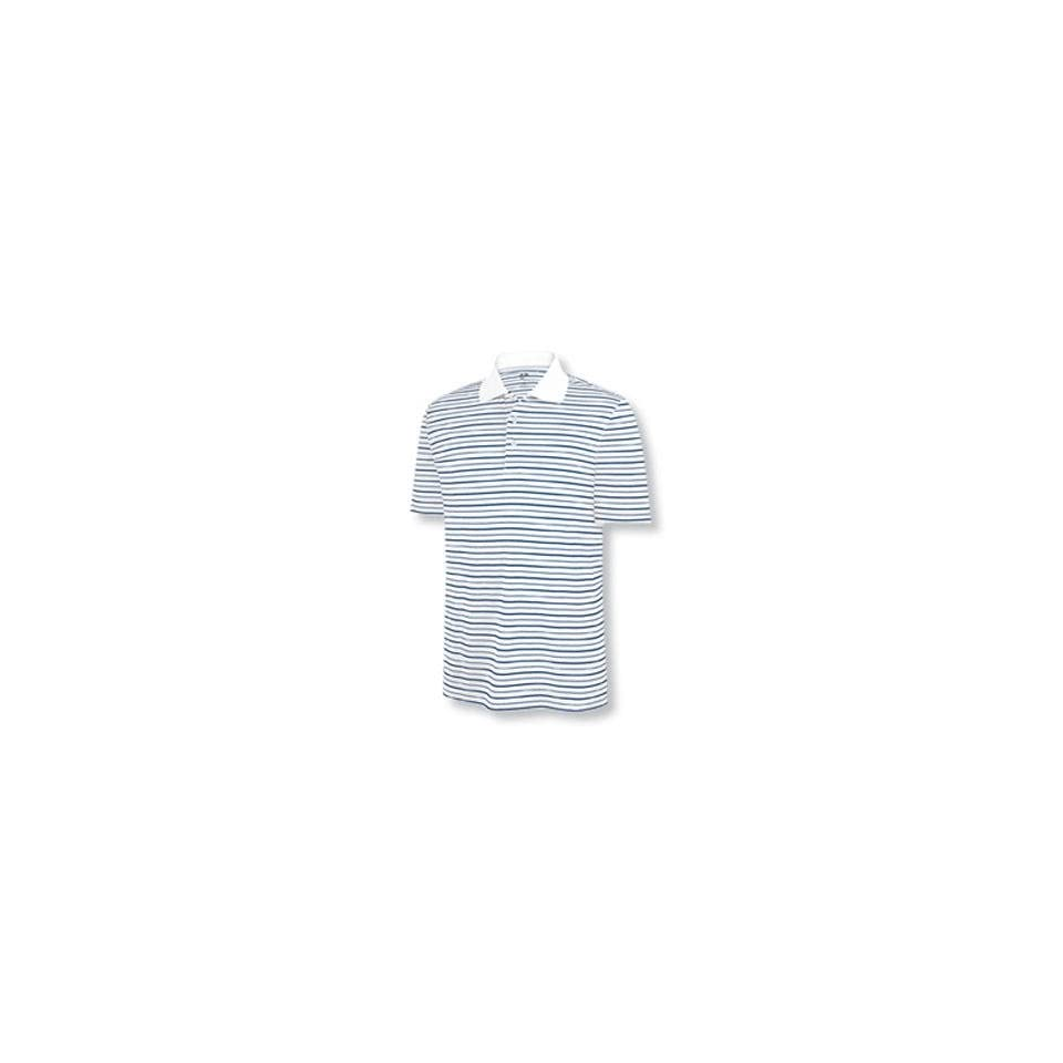 Adidas 2010 Boys ClimaLite Stripe Golf Polo Shirt