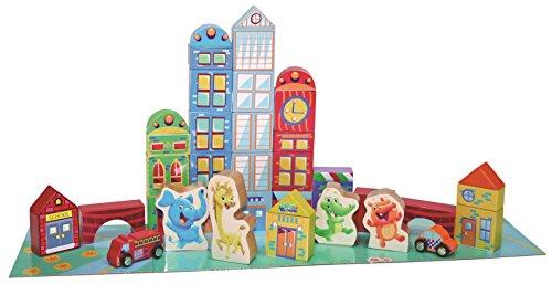 Playskool Elefun City Blocks (40-Piece) front-999571