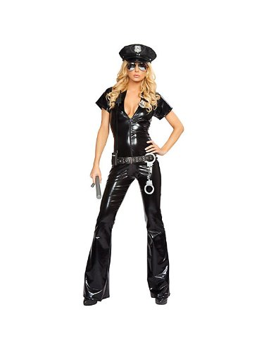 Sexy Officer Costume - Medium/Large - Dress Size 6-10