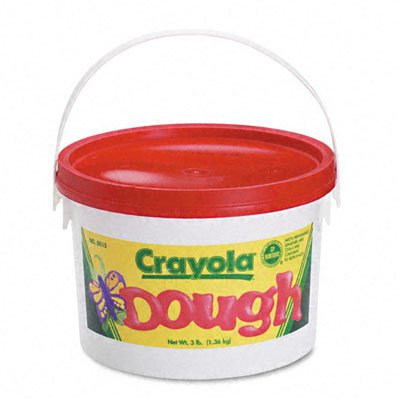 o Crayola o - Reusable Modeling Dough, 3lb in Airtight Container, Red