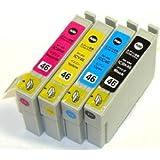 エプソン IC4CL46 4色セット 【互換インクカートリッジ】【ICチップ有】EPSON IC46-4CL-SET【インク】