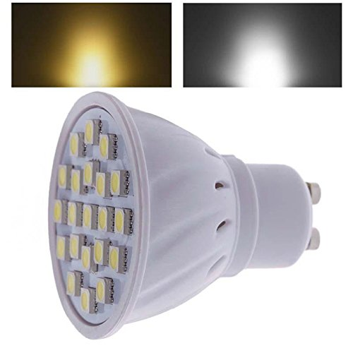 Home Useful Wholesale Engergy Save Gu10 21 Smd 5050 2.5W Led Bulb Warm Pure White Light 110V
