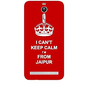 Skin4gadgets I CAN'T KEEP CALM I'm FROM JAIPUR - Colour - Red Phone Skin for ASUS ZENFONE 2