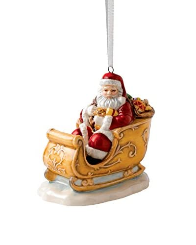 Royal Doulton Santa In Sleigh, Multi
