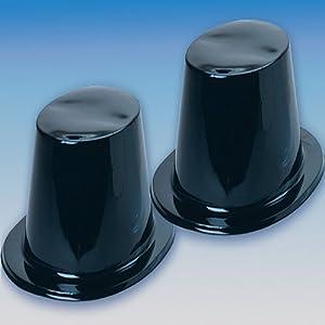 Black Top Hats (1 Dozen) - Bulk from US