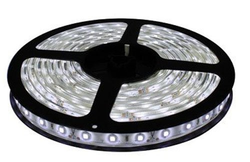Cbconcept 12V60Smd3528-5M-Cw Low Voltage 12 -Volt Smd3528 Flexible Led Strip Light, 16.4-Feet Spool, Cool White