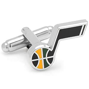 Utah Jazz Cufflinks by Cufflinks