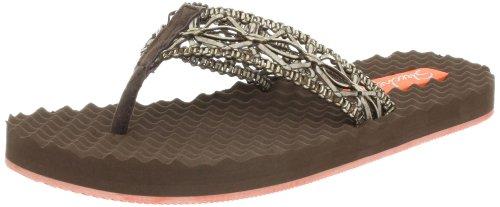 Skechers Women'S Works-Sea Breeze Thong Sandal,Brown,9 M Us front-991081