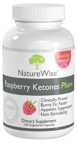 NatureWise Raspberry Ketones Plus+ Weight Loss