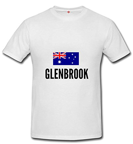 T-shirt Glenbrook city white