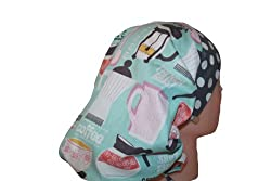 Surgical Scrub Hat Cap Pink Teal Grey Coffee Fitted Feminine from Scrumptious Scrub Hatz