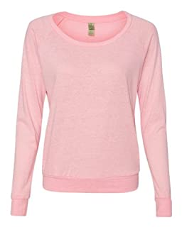 Alternative AA1990 Ladies' 4.4 oz. Slouchy Pullover - Eco Pink Ribbon - L