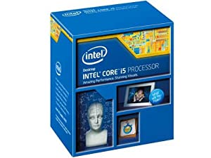 Intel Core i5 4440 Quad Core CPU Retail (Socket 1150, 3.10GHz, 6MB, 84W, Extended Memory 64 Technology, Execute Disable Bit