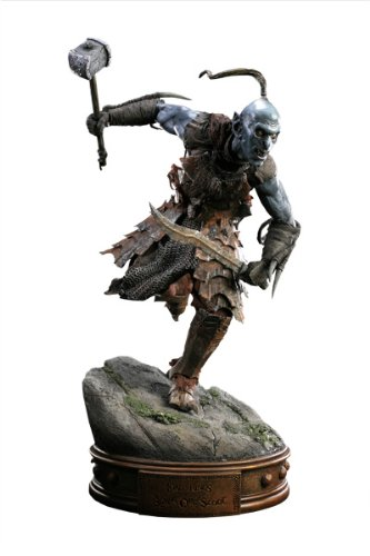 Picture of Sideshow Black Orc of Mordor Premium Format Figure (B004QP3SYA) (Sideshow Action Figures)
