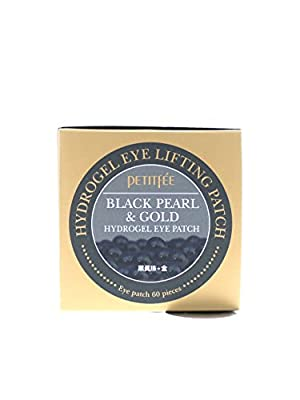 PETITFEE Black Pearl & Gold Hydrogel Eye Patch - 60 sheet