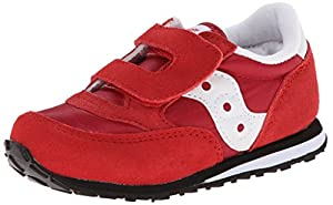 Saucony Jazz Hook and Loop Sneaker (Toddler/Little Kid),Red,7 M US Toddler