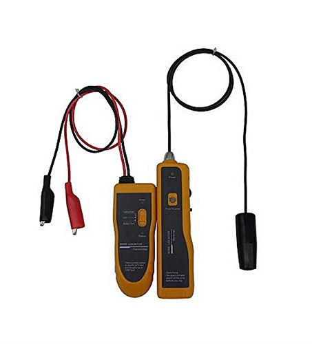 NOYAFA NF-816 Underground Cable Wire Locator Locate Pet Fence Wires, Sprinkler Control Wires, Metal Pipes, Electrical Wires, Telephone Wire, Coax Cable With Earphone