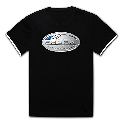 amazinghirt-custom-shirt-for-man-100-cotton-pagani-logo-black