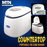 New Deluxe Portable Countertop Ice Cube Maker Machine
